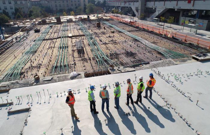 Box Truss Lift Complete at MCAS Miramar